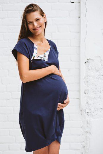 sukienka do porodu GRANATOVA - ważki
