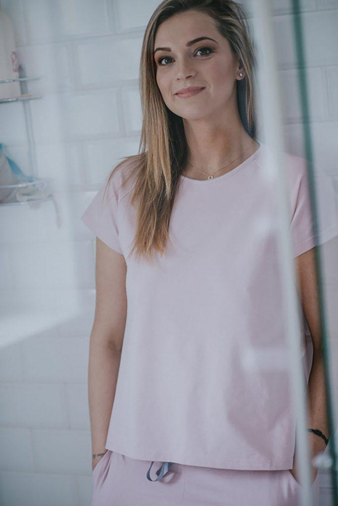 ALL-DAY-LONG T-SHIRT - powder pink