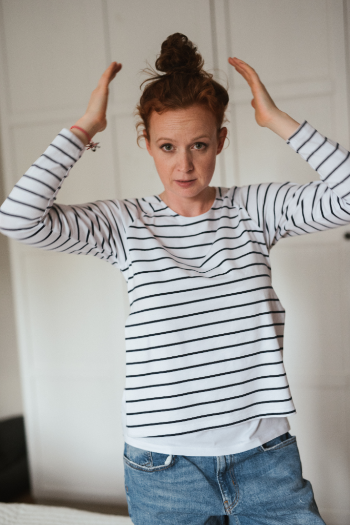 ALL-DAY-LONG LONGSLEEVE T-SHIRT - breton stripes